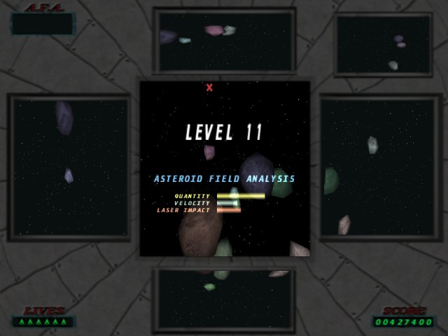 Click to view 3D Asteroids 1.4 screenshot