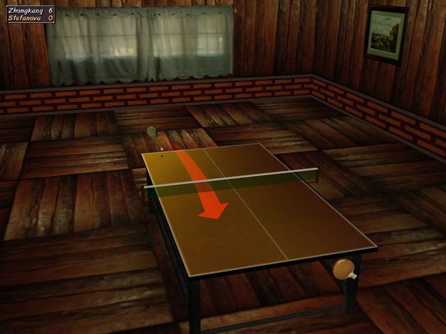 Click to view Table Tennis Pro 2.32 screenshot